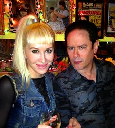 With Andy Troy at the Trailer Park Lounge, NYC #trailerparklounge #newyorkcity