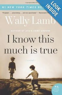 ONE OF THE BEST THIS YEAR - READ IT!  The Orange Door: Book Review: I Know This Much Is True by Wally Lamb