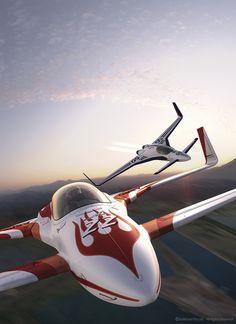 Rocket Racing League by Nick Kaloterakis [Futuristic Vehicles: http://futuristicnews.com/category/future-transportation/]
