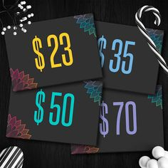 Chalkboard Lularoe Price Cards Instant Download Home Office Approved