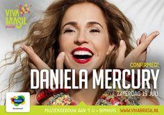 Daniela Mercury - Viva Brasil Festival 2014 www.vivabrasil.nl
