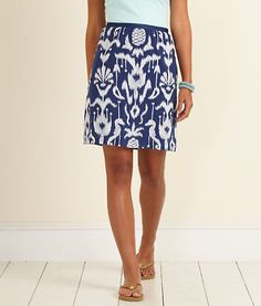 Vineyard Vines Bailey Ikat Skirt