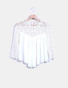 af01582c5 Camisa blanca de corchetes | TOPS | Camisa blanca, Tommy hilfiger ...
