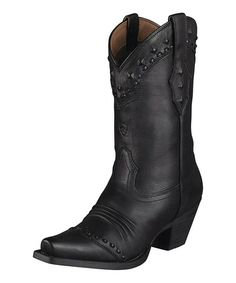 Black Dixie Boot - Women by Ariat on #zulily