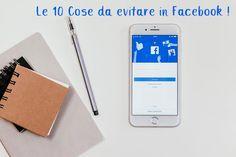 Cose da evitare in Facebook