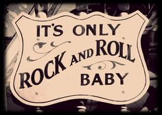 """BABY ONESIE *It's Only Rock and Roll Baby* Cool Hip Edgy Baby Onesies. Check Shop Section """"Baby Clothes"""" for More Choices"""
