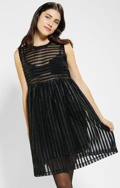 Cage Baby Doll Dress