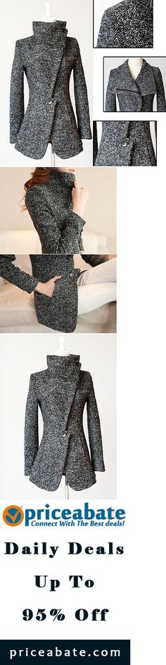 #Priceabate Fashion Womens Winter Slim Long Sleeve Jacket Coat Parka Trench Outwear - Buy This Item Now For Only: $10.99