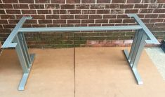 Design Dining Table Base Sturdy And Heavy Duty Steel Table