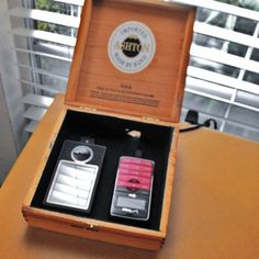10-Minute Project: Cigar Box Charging Station
