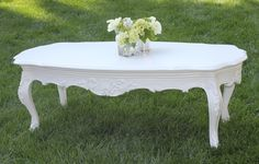 1 of these -Cielo Blanco Coffee Table | Town & Country Event Rentals
