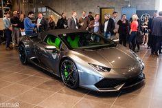 Lamborghini Huracan Spyder Lands in Calgary
