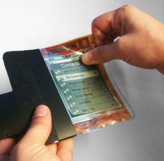 Le smartphone du futur, fin et pliable comme une feuille de papier