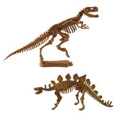Science4you - T-rex y Estegosaurio - excavaciones fósiles - juguete científico y educativo: Amazon.es: Juguetes y juegos