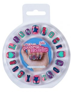 Standard - Cool & Rock Press On Nails Stick On Nails, Glue On Nails, Pastel Nails, Acrylic Nails, Fake Nails For Kids, Cute Gel Nails, Galaxy Cake, Unicorn Nails, Birthday Gifts For Teens