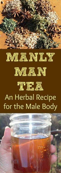 Herbs are wonderful for helping support the male reproductive system and libido! Here is a recipe for an herbal tea blend that targets the male body! It helps to stabilize and increase energy, supports prostate health, tastes delicious, and can be used daily as a tonic! Try out this herbal tea blend recipe! Information included about the herbs used in this male formula tea too!