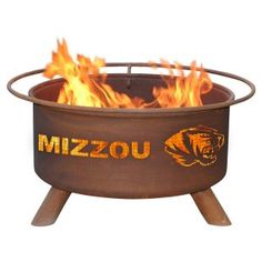 Love, love, love this firepit! MIZZOU!!!
