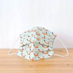 Very cute Fox's a lot!!  TEMARIYA masks are all hand made with soft, skin-friendly double cotton gauze. It's three-dimentional cutting to fit ...