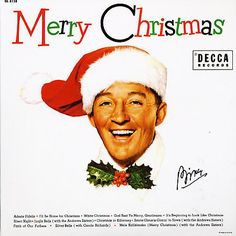 Bing Crosby!  My favorite Christmas Album!  Reeks home from every note and scratchy groove in the album!  Had a chance to see him live in concert at the WH but he died before that Christmas.  Extremely sad!