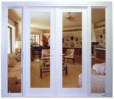 I really want doors like this on our spare room.