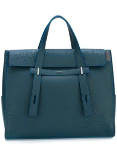 FURLA Logo Plaque Tote. #furla #bags #leather #hand bags #tote #