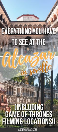 The Real Alcazar in Seville, Spain is like something straight out of a fantasy series. Oh wait, it actually is. Here's a guide to everything you have to see at the Alcazar in Seville -- including Game of Thrones filming locations! via @addieabroad