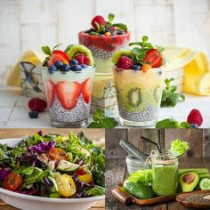 5 zdravých receptů s chia semínky. Raw Food Recipes, Low Carb Recipes, Healthy Recipes, Chia Puding, Healthy Life, Healthy Eating, Snacks, Cooking Light, Raw Vegan