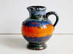 Vintage Ükeramik übelacker ceramic fat lava by vintage2remember, €30.00