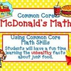 Common Core McDonalds Math - The UNhealthy Truth Students will enjoy using Common Core Math to calculate the UNhealthy Facts at McDonald's. Experience creative math activities that will shock your. Health Lessons, Science Lessons, Math Resources, Math Activities, Third Grade Math, Fourth Grade, Math Words, Nutrition Chart, Math Classroom