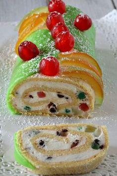 Best Italian Recipes, Sicilian Recipes, Italian Desserts, Jelly Roll Cake, My Favorite Food, Favorite Recipes, Delicious Desserts, Dessert Recipes, Italian Recipes