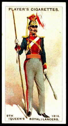 Cigarette Card - 9th Lancers, 1816 | Flickr - Photo Sharing! #93