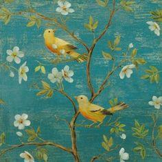Blossom blues. Daphne Brissonnet.