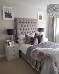 This is a Bedroom Interior Design Ideas. House is a private bedroom and is usually hidden from our guests. However, it is important to her, not only for comfort but also style. Much of our bedroom … Interior Design, Bedroom Interior, Bedroom Makeover, Home Decor, Luxurious Bedrooms, Small Bedroom, Chic Bedroom, Home Bedroom, Apartment Decor