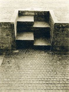 poetryconcrete:  Brion Cemetery, by Carlo Scarpa,1969–1978, at...