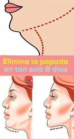 7 effective exercises to eliminate gill without liposuction .- Eliminate the double chin in just 8 days, double chin exercises and tone the neck, such as reducing double chin, home workout routine to eliminate double chin - Health And Wellness, Health Tips, Health Fitness, Natural Hair Mask, Natural Hair Styles, Natural Lashes, Natural Oils, Natural Health, Herbal Remedies