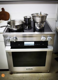 The 30u201d Induction M Touch Range. The Best I Have Ever Cooked With.
