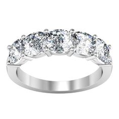 Forever one moissanite cushion five stone ring moissanite wedding rings debebians Moissanite Wedding Rings, Wedding Rings Solitaire, Princess Cut Engagement Rings, Round Diamond Engagement Rings, Diamond Anniversary Bands, Anniversary Rings, Wholesale Engagement Rings, Wedding Ring Styles, Wedding Band