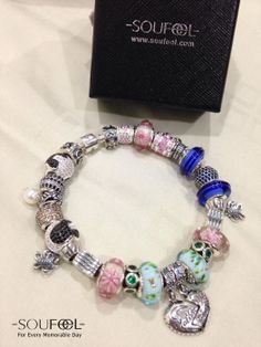 Sofiah Mohd Haniff's Soufeel Jewelry Charms Bracelet, must need these for your pandora charms bracelet  www.soufeel.com