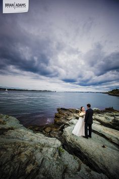 Laura + Kit | Castle Hill Inn | Newport, RI | Brian Adams PhotoGraphics | New England Wedding Photography | Seaside Sunset | Pell Bridge | Narragansett Bay | www.brianadamsphoto.com | @castlehillinn @emdevaudevents