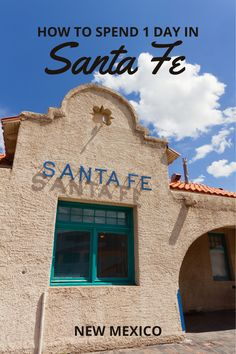 The best itinerary if you are planning one day in Santa Fe for sightseeing. This plan includes best places to stay in Santa Fe, where to eat and shop, plus things to do and tips for visiting Santa Fe Plaza, Loretto Chapel, St. Francis Cathedral, Railyard District, Museum Hill, and more. #usa #travel #vacations #thingstodo #attractions Usa Travel Guide, Travel Usa, Travel Guides, Travel Tips, Loretto Chapel, Santa Fe Plaza, Visit Santa, Road Trip Usa, New Mexico