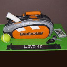 Tennis bag cake - That's My Cake