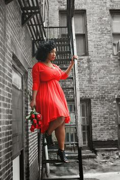 Kelly Augustine: Lady in Red