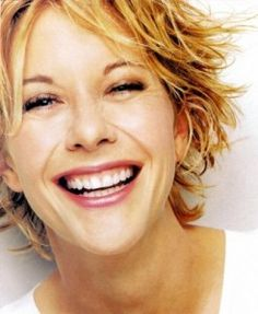 meg ryan, my hair is wavy. She offers a lot of hair inspiration. via kompormbeldok.blogspot.ca