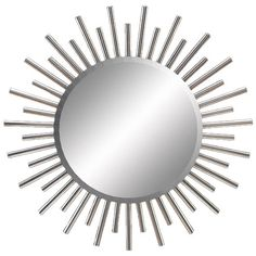 I pinned this Sunburst Wall Mirror from the Forties Flair event at Joss and Main!