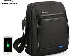 80101acd87d2 Kingsons Famous Brand Men Bag Casual Business Mens Messenger Bags Vintage  Men s Crossbody Bag Bolsas Male Shoulder Bags  phone  phones