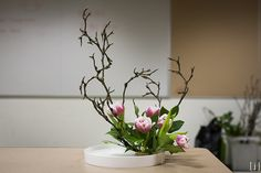Ikebana Sogetsu style | Sogetsu Ikebana Workshop-2866 | Flickr - Photo Sharing!