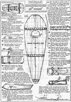 Indian Snowshoes Plan