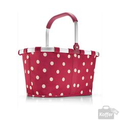 Reisenthel Shopping carrybag ruby dots