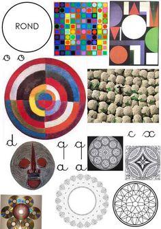Graphisme: ronds