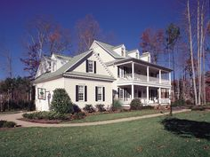 Southern Plantation House Plan 128D-0008   House Plans and More